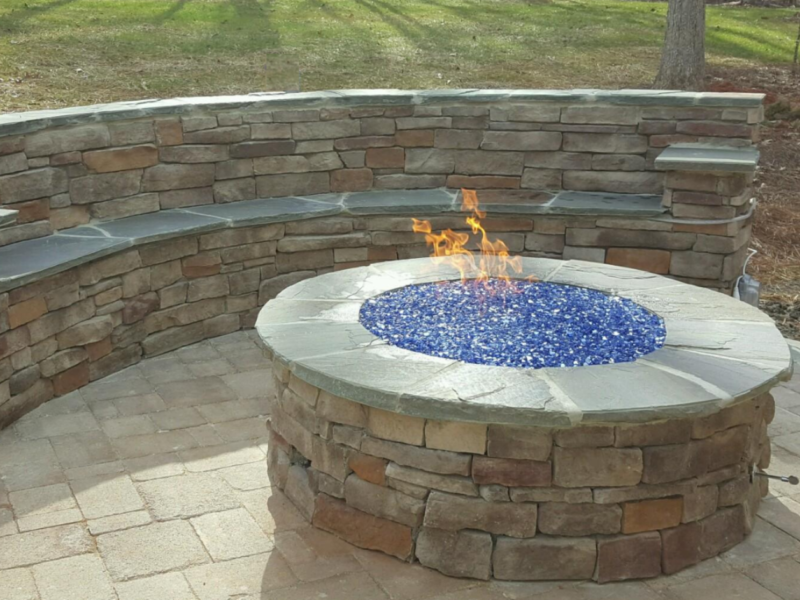 custom outdoor firepits